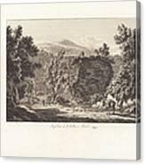 Sepolcro Di L. Cellio A Tivoli Canvas Print