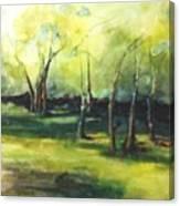 September At Mac O Cheek Canvas Print