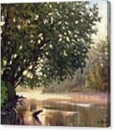 September Dawn Little Sioux River - Plein Air Canvas Print