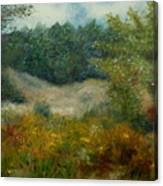 September In Hyde Park Canvas Print