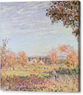 September Morning Canvas Print