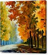 September Morning Canvas Print