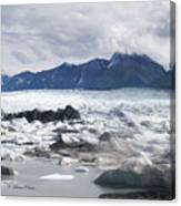 September's Knik Glacier Canvas Print