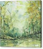 September's Silence  Canvas Print