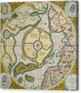 Septentrionalium Terrarum Descriptio Canvas Print