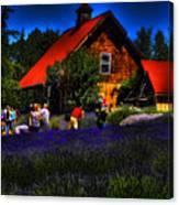 Sequim Lavender Canvas Print