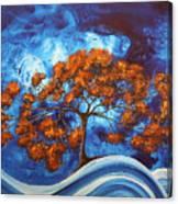 Serendipitous Original Madart Painting Canvas Print