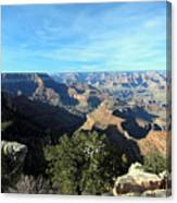 Serene Canyon Canvas Print