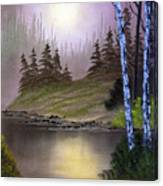 Serene Nightscape Canvas Print