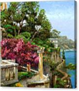 Serene Sorrento Canvas Print