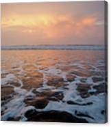 Serenity At The Sea Canvas Print