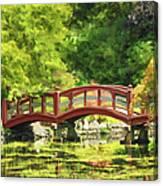 Serenity Bridge II Canvas Print