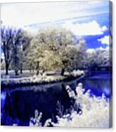Serenity Bridge Canvas Print