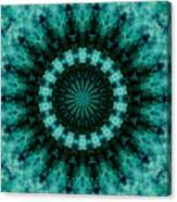 Serenity Mandala Canvas Print