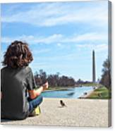 Serenity On The National Mall Canvas Print
