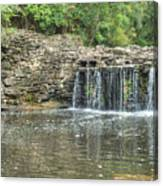 Waterfall Of Peace Canvas Print