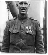 Sergeant York - World War I Portrait Canvas Print