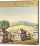 Sergei Sudeikin Russian 1882-1946 Stage Design Canvas Print