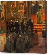 Sergey Dmitrievich Miloradovich Russian 1851-1943 Uspenskiy Cathedral, 1917 Canvas Print