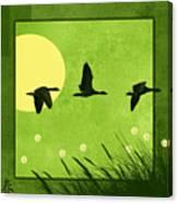Series Four Seasons 1 Spring Canvas Print
