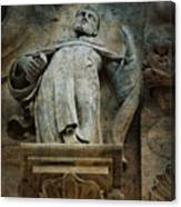 Sermon In Stone Canvas Print