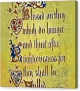 Sermon8 Canvas Print
