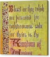 Sermon9 Canvas Print