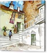 Serpa  Portugal 03 Bis Canvas Print