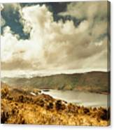 Serpentine Dam Tasmania Canvas Print