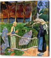Serusier: Barriere, 1889 Canvas Print