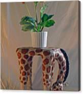 Servant Giraffe Canvas Print