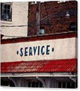 Service Canvas Print