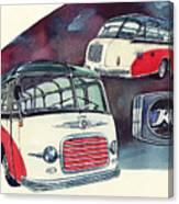 Setra Bus Kassbohrer S11 Canvas Print