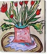 Settled Canvas Print