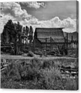 Settler's Barn Canvas Print
