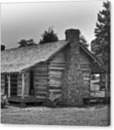 Settlers Cabin Tennessee Canvas Print
