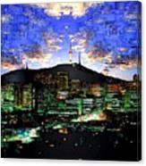 Seul Korea Canvas Print