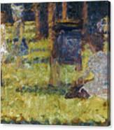 Seurat: Grande Jatte, 1884 Canvas Print