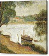 Seurat: Gray Weather Canvas Print