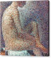 Seurat: Model, 1887 Canvas Print