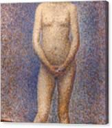 Seurat: Model, C1887 Canvas Print