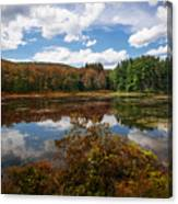 Seven Lakes Autumn Reflections Canvas Print