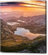 Seven Lakes Canvas Print