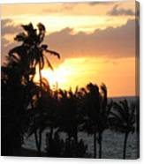 Seven Mile Sunset Canvas Print