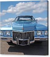 Seventies Superstar - '71 Cadillac Canvas Print