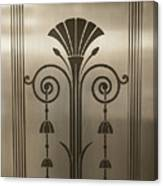 Severance Hall Art Deco Door Detail Canvas Print