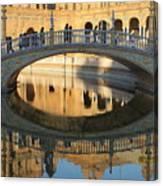 Seville, Spain Tile Bridge Canvas Print