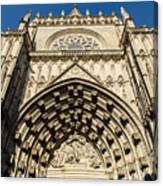 Seville - The Cathedral Canvas Print