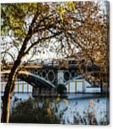 Seville - The Triana Bridge 2  Canvas Print
