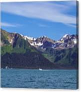 Seward Mountains Canvas Print